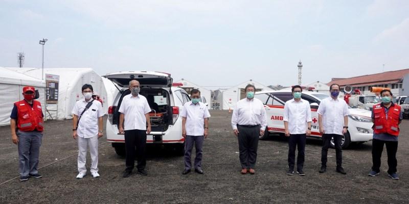 Toyota danSERA Gencar MendukungMobilitas Penanggulangan Wabah COVID-19