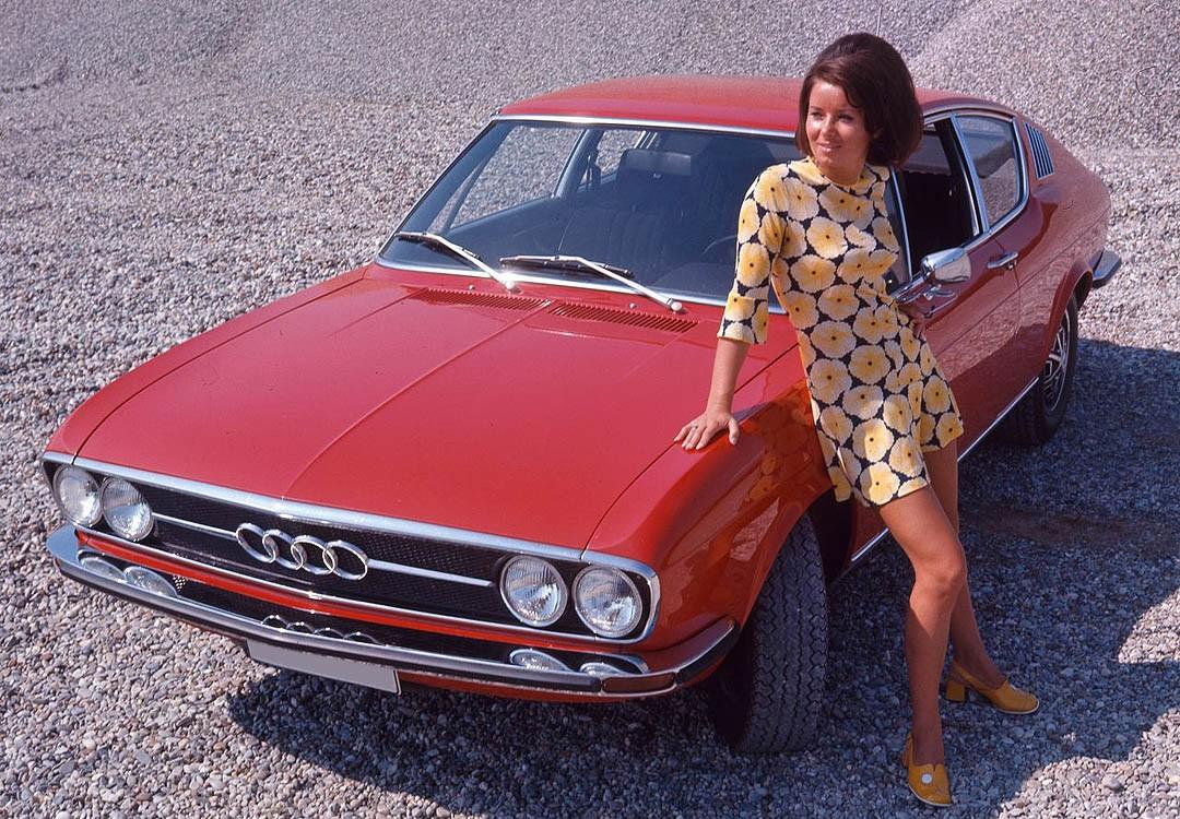 Klasik & Langka: Audi 100 Coupé S 1969