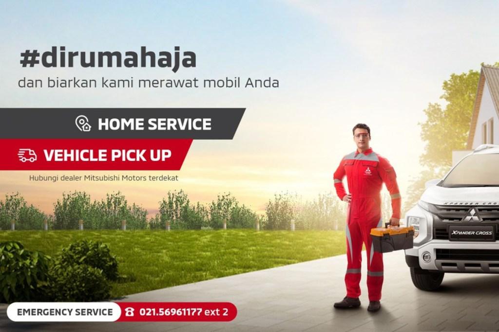 Permintaan 'Home Service Mitsubishi Melonjak Selama PSBB