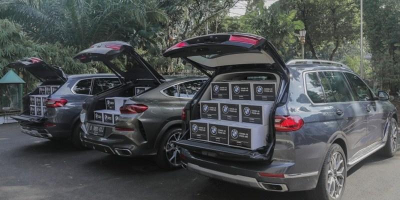BMW Indonesia Bersama BMWCCI Jakarta, Donasikan Sembako Untuk Masyarakat