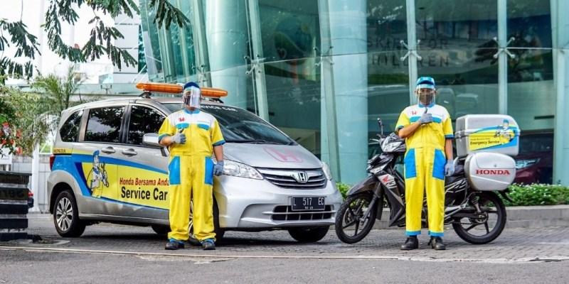 Dukung PSBB, Honda Layani Service Gratis Bagi Kendaraan Para Dokter