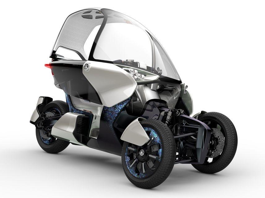 Yamaha Siapkan Motor Roda Tiga Terbaru Berbasis Tmax 560