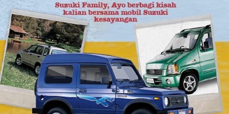 Suzuki Ajak Konsumen Bernostalgia Peringati 50 Tahun di Indonesia