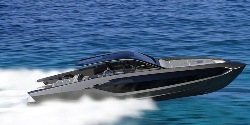 Lamborghini Bikin Kapal Pesiar Super Kencang, Ini Wujudnya!