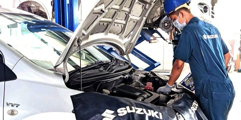 Covid-19, Body Repair and Paint Suzuki Tunjukkan Kinerja Memuaskan