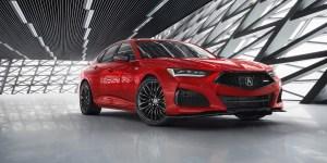 Acura TLX Terbaru Usung Teknologi Airbag Pelindung Kepala