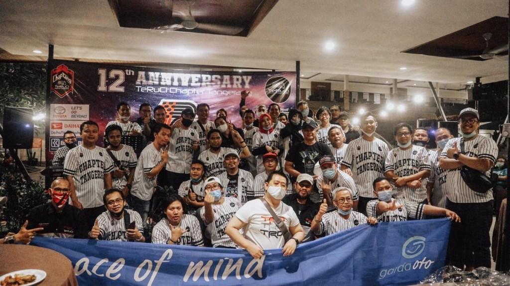 Kemeriahan Anniversary ke-12 TeRuCi Chapter Tangerang