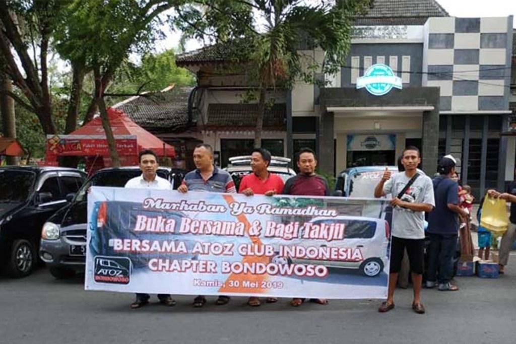 ACI Chapter Bondowoso Bagi Bagi Takjil Gratis