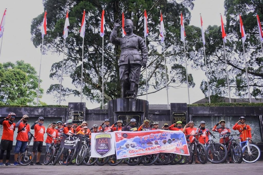 HUT RI ke-75, TeRuCi Gelar Gowes Kemerdekaan 17K