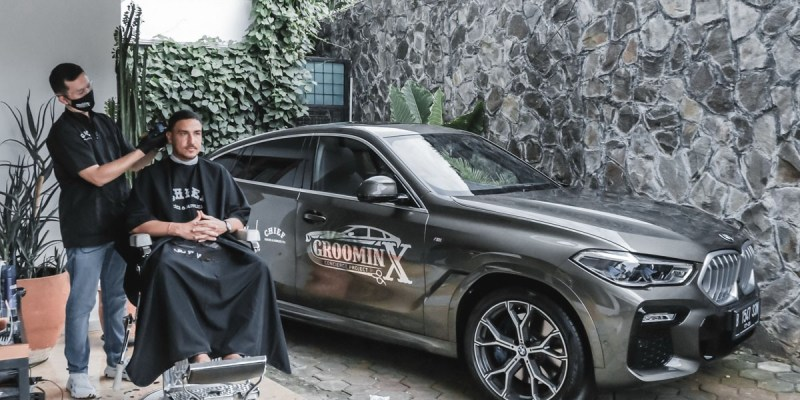 'GroominX Concierge Project', Test Drive Sekaligus Potong Rambut