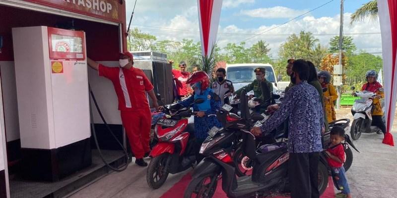 Penjualan Pertashop di Lampung Mencapai 500 Liter/Hari