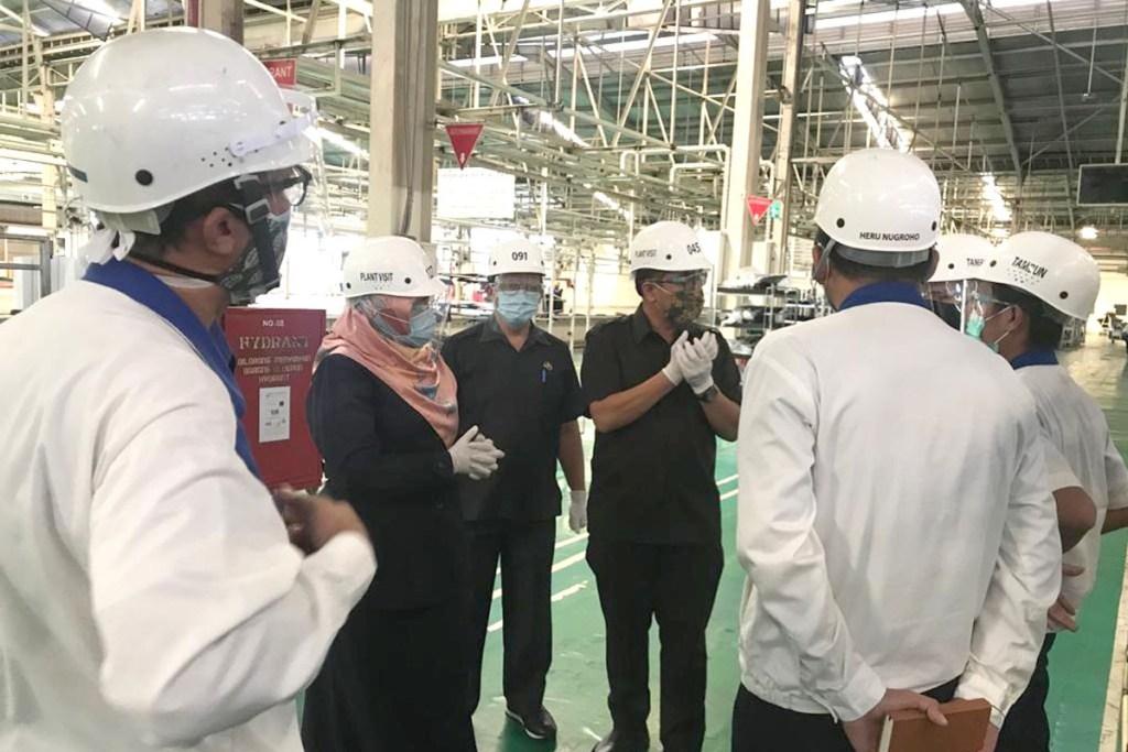 Perketat Penyebaran Covid-19, Suzuki Kurangi Kapasitas Produksi 50%