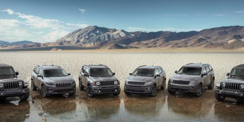 Jeep Meluncurkan Special Edition Model Versi 80th Anniversary