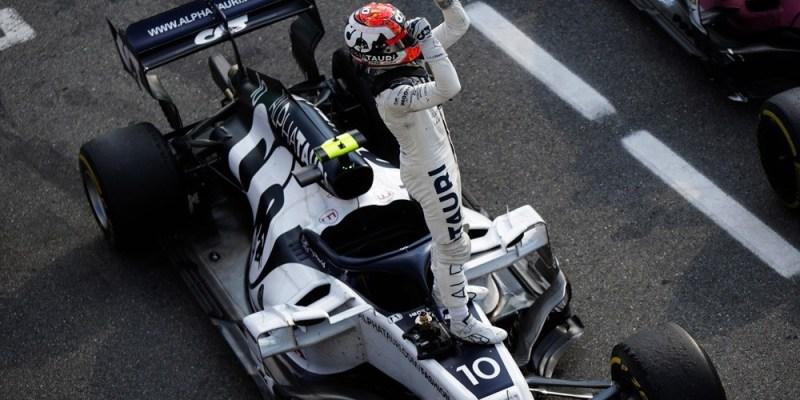 Kemenangan Tim Scuderia Alphatauri Honda di Grand Prix Italia 2020