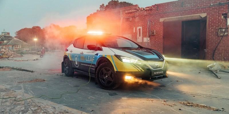 Nissan Re-Leaf = Penjelajah Alam + Pembangkit Listrik