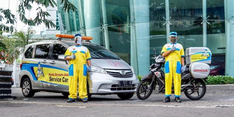 Atasi Recall, Honda Hadirkan Booking Online dan Perbaikan di Rumah