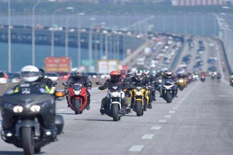 IMI Rancang Panduan Standarisasi 'Riding' Komunitas Motor