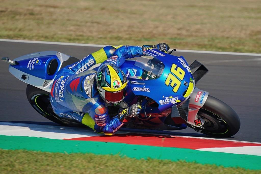 Suzuki Makin Ceria, Joan Mir Sukses Podium di San Marino GP