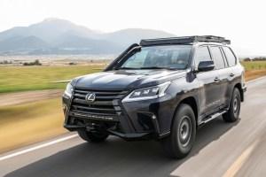 Lexus LX J201, Setengah SUV dan Setengah Mobil Rally