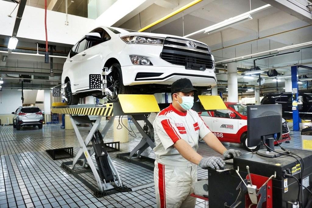 Gratis, Empat Tahun Perawatan Berkala dan Suku Cadang Toyota