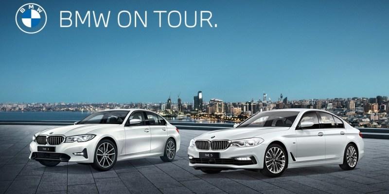 BMW On Tour, Coba Langsung Rangkaian Varian Terbaru BMW