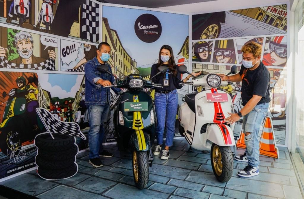 Vespa Racing Sixties Tebar Pesona di Diler Resmi Piaggio Vespa