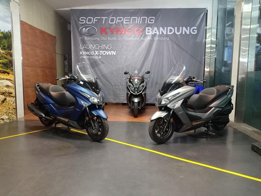 Kymco X-Town 250i Punya Warna Baru, Harga Naik Rp2 juta