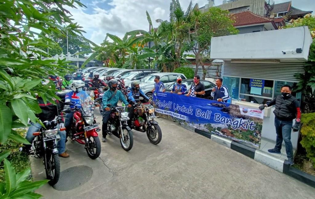Yamaha Bali Adakan Touring untuk Genjot Pariwisata Bali
