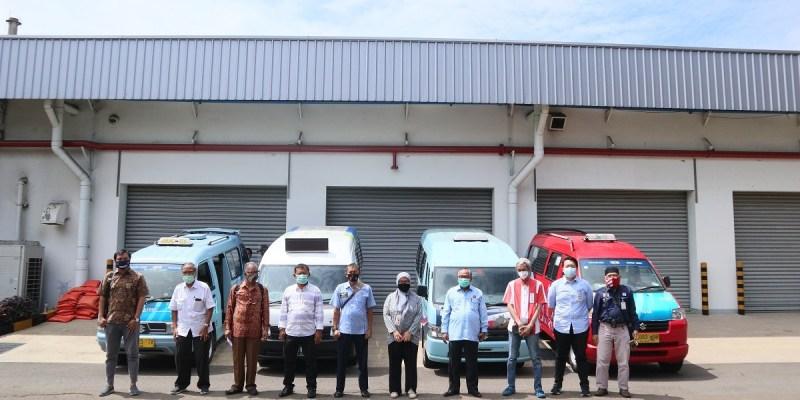 Suzuki Donasikan Masker dan Handsanitizer di Transportasi Umum