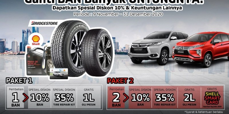 Hingga Akhir Desember 2020, MMKSI Gelar Program 'Tire Campaign'