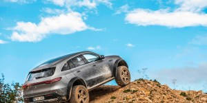 Mercedes-Benz EQC 4×4², SUV EV Penggaruk Tanah