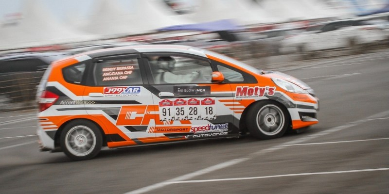 Debut Manis CRK Motorsport di Meikarta Speed Slalom 2020