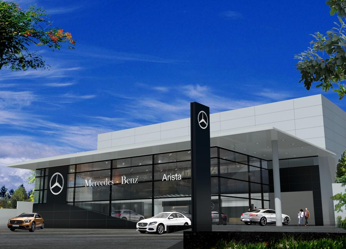 Mercedes-Benz Siapkan Showroom PT Arista Jaya Abadi di Medan