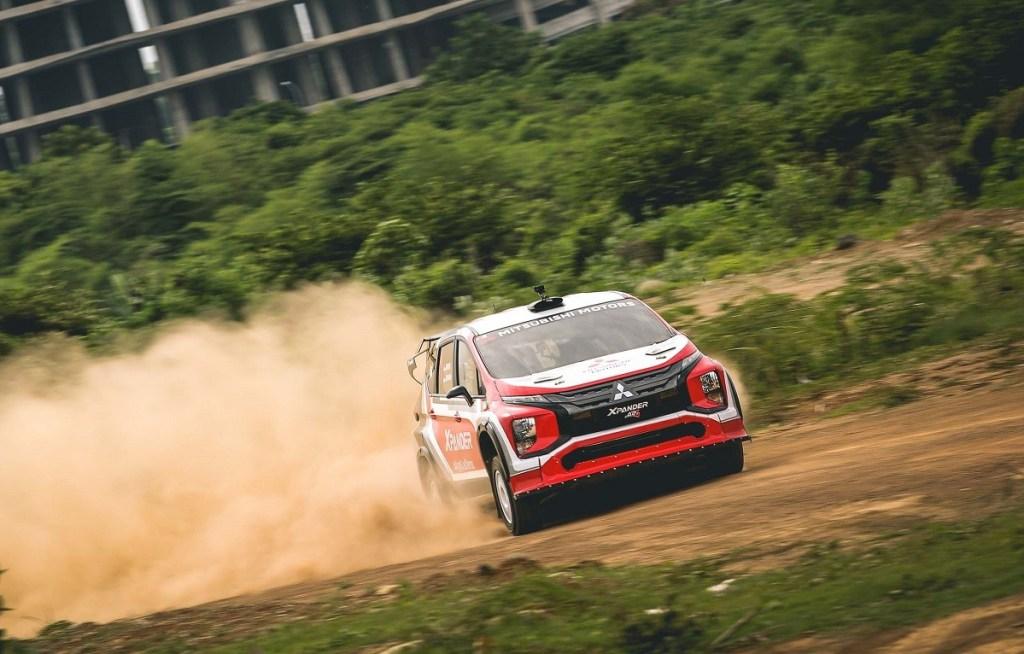 XPANDER Rally Team Juara Umum Meikarta Sprint Rally 2020