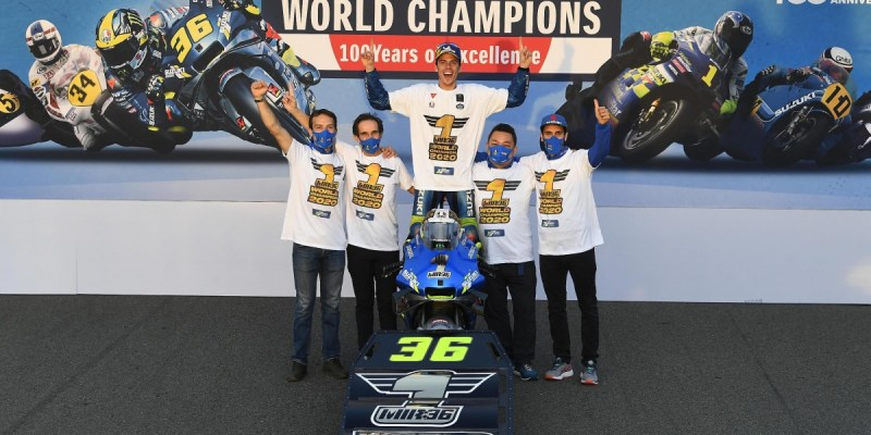 Team Suzuki Ecstar Cetak Hadiah Terindah di 100 Tahun Suzuki