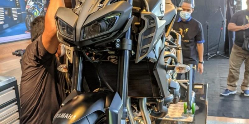 Ini Pemilik Satu-satunya Yamaha MT-09 Terbaru di Bali