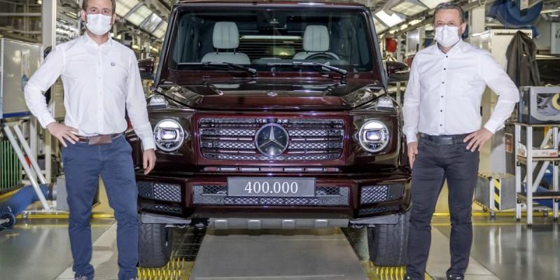 Mercedes-Benz Rayakan Produksi 400.000 unit G-Class