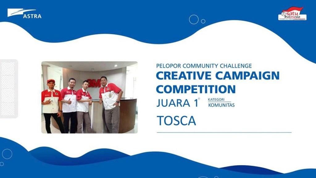 Tiga Penghargaan TOSCA di Akhir Tahun
