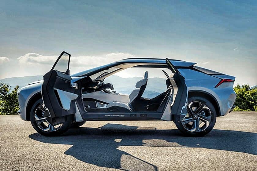 Diilhami Dari Lancer Evo, Mitsubishi Terus Kembangkan e-Evolution Concept Menjadi SUV Listrik Murni