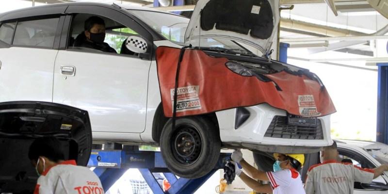 Persiapkan Mobil Sambut Libur Nataru