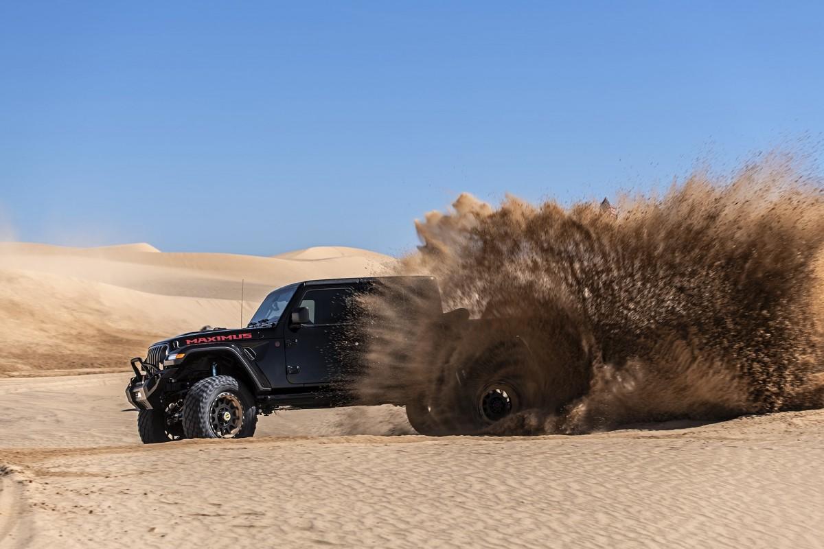 Jeep Gladiator Hennessey Maximus 1000 : Kegilaan Maksimum