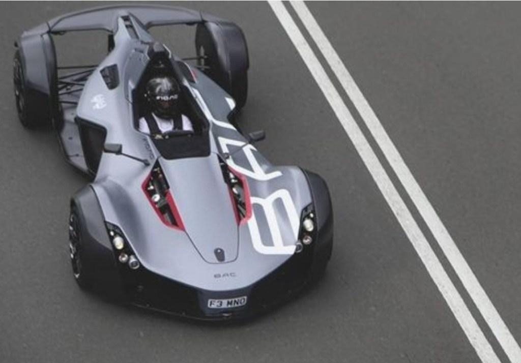Inilah BAC Mono, Supercar Jalan Raya Rasa Mobil F1 Versi Terbatas