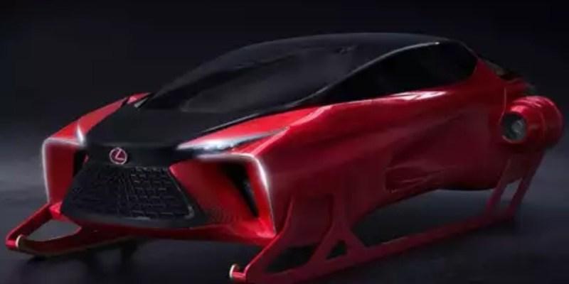 Konsep Menarik Dari Lexus Untuk Kereta Luncur Sinterklas