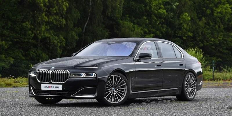 Rendering Terbaru Untuk BMW Seri 7 Generasi Terbaru
