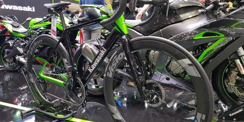 Keren! Kawasaki Luncurkan Road Bike dan Mountain Bike