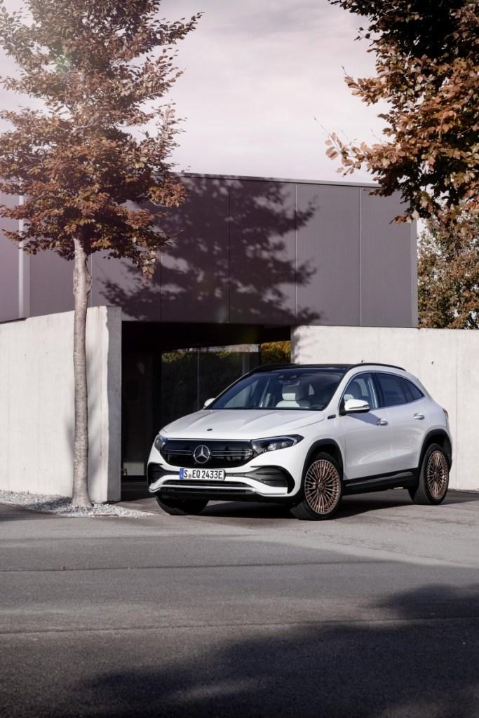 Harga Terjangkau, Mercedes EQA 250 Meluncur Sebagai Entry-Level Di Jajaran EQ
