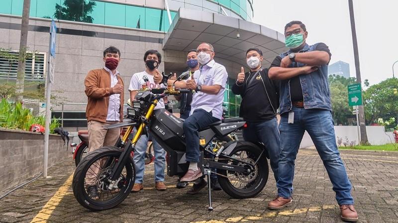 Elbike, Bikin Motor Konvensional Jadi Bertenaga Listrik