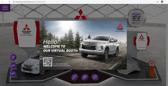 Mitsubishi Motors Ikut Berpartisipasi Di Ajang IIMS Virtual 2021