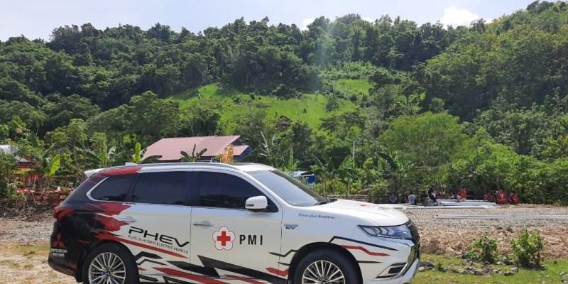 Tiga Kendaraan Mitsubishi Untuk Korban Bencana di Indonesia