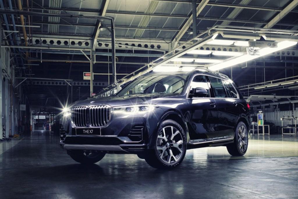 BMW Indonesia Luncurkan New X7 dan New X3 Rakitan Lokal
